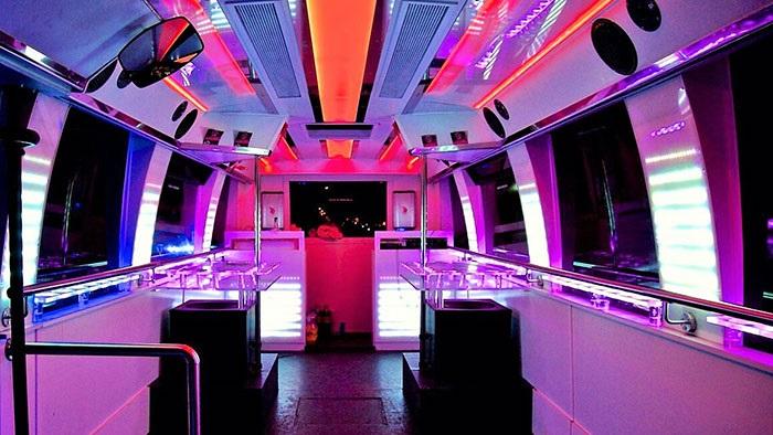 Interior discobus Madrid