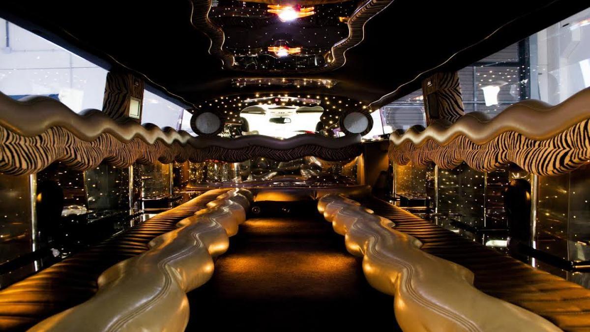 Interior limusina madrid